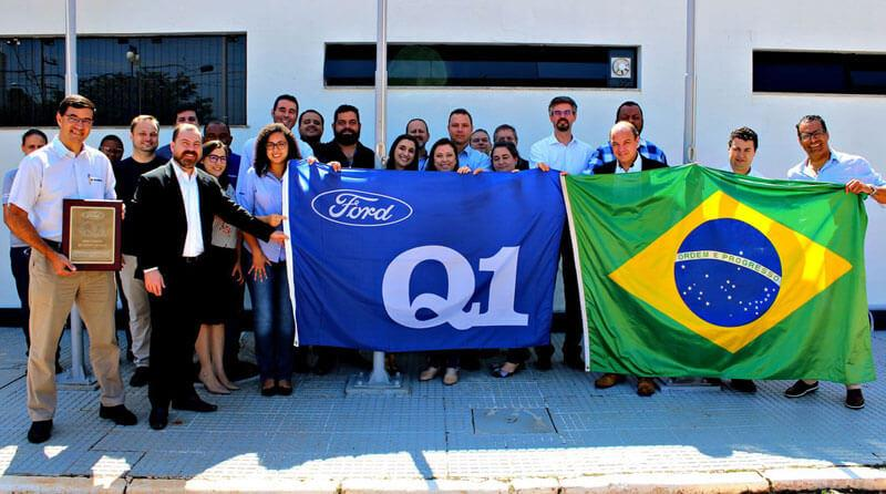 Piracicaba Flies the Ford Q1